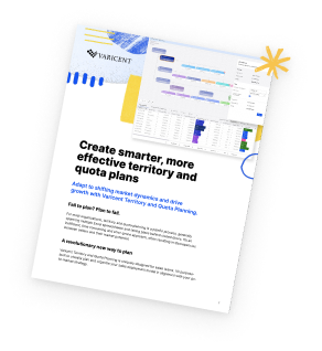 Optimize sales territories with Varicent Territory and Quota Planning.