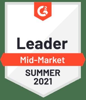 Varicent ICM is a 2021 G2 midmarket leader