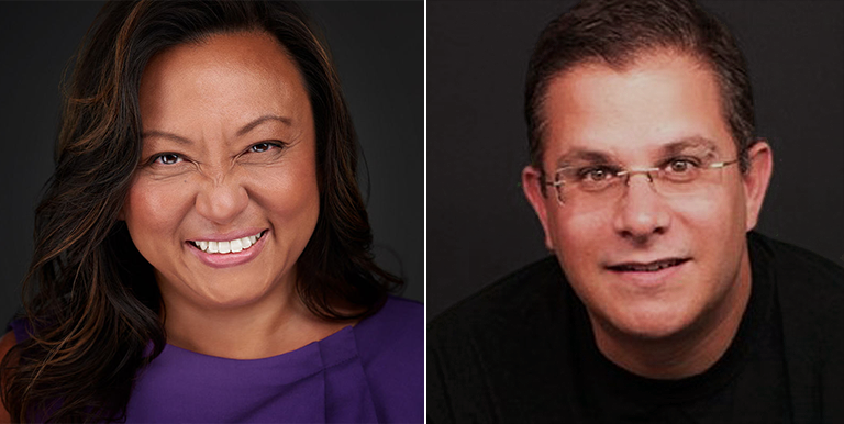 Karoline Chan & Robert Levine Chief HR Officer & Chief Financial Officer