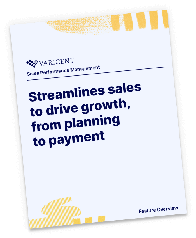 Streamline sales to drive growth, from planning to payment. See why Varicent is the leading SPM solution with this feature overview.